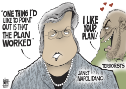 NAPOLITANO PLAN WORKED,  by Randy Bish