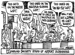 Airport Security by John Trever