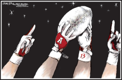 Alabama wins crystal ball by J.D. Crowe