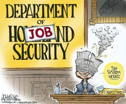 Department of Job Security  by John Cole