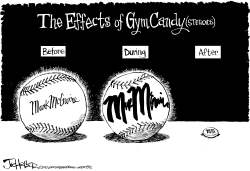 Mark McGwire by Joe Heller