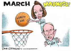 March Madness and Health Care by Dave Granlund