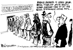 March Madness by Milt Priggee