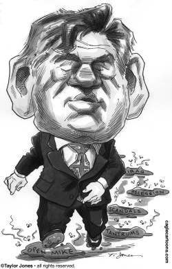 Gordon Brown marches on by Taylor Jones