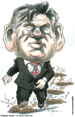 Gordon Brown marches on -  by Taylor Jones