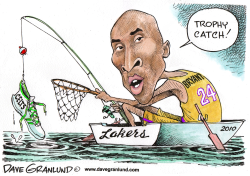 Lakers 2010 NBA Champs by Dave Granlund