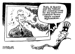 General McChrystal by Jimmy Margulies