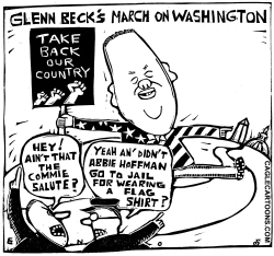 Glenn Beck - March on Washington by Randall Enos