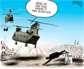 USA leaves Iraq by Patrick Corrigan, The Toronto Star