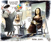 Mona Lisa 2010 by Patrick Corrigan, The Toronto Star