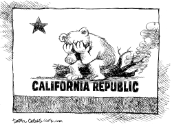 California Grieves by Daryl Cagle