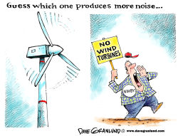Wind turbine noise concerns by Dave Granlund