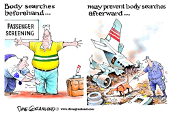 Body searches by Dave Granlund