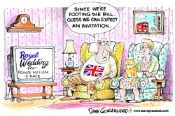 Royal Wedding Plans by Dave Granlund