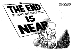 McCain opposes end to Dont Ask Dont Tell by Jimmy Margulies
