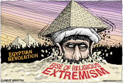 Egyptian Revolution  by Wolverton