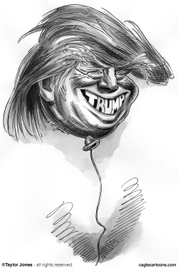 Trump Trial Balloon by Taylor Jones