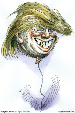 Trump Trial Balloon -  by Taylor Jones