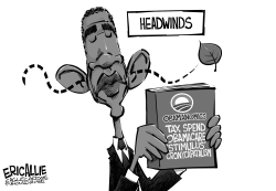 Economic headwinds by Eric Allie