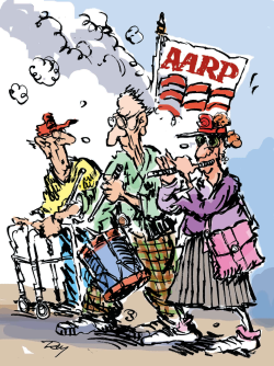 AARP to declare war on Social Security cuts by Jim Day