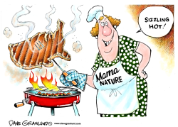 US heatwave by Dave Granlund