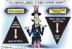 Ponzi Sheme by Joe Heller